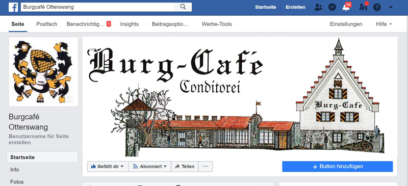 Screenshot Facebookweb